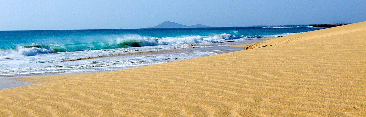 Ponta Preta Beach Sal Cape Verde