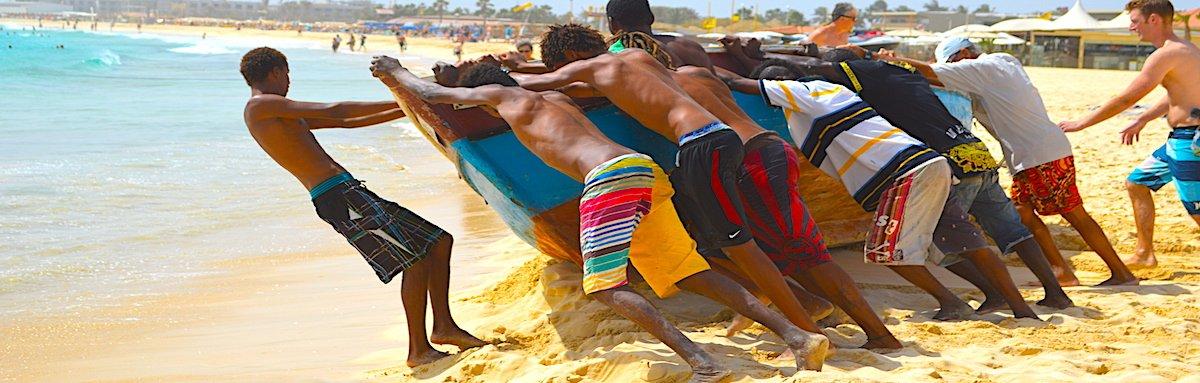 Santa Maria Beach Cape Verde