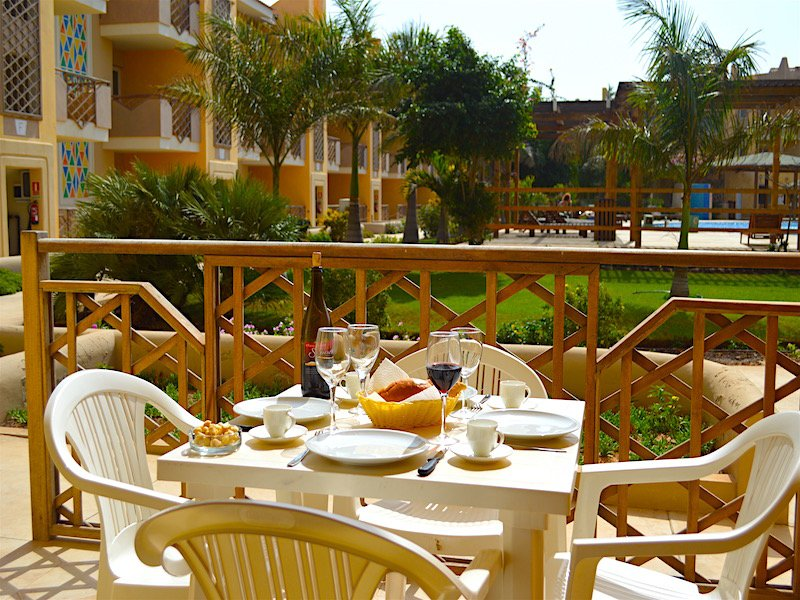 tropical resort sal terrace
