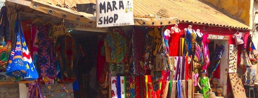 Mara shop, Santa Maria, Sal