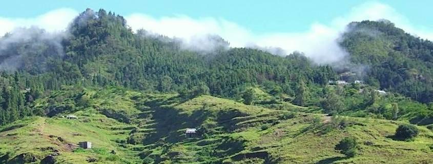 Santo Antao green hills