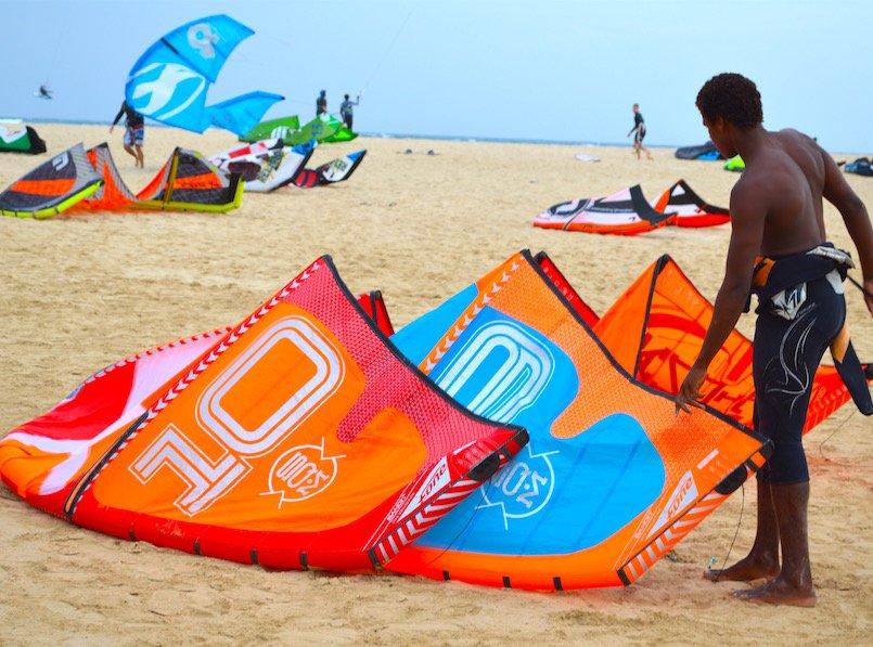Kite on Kite Beach Sal Cape Verde