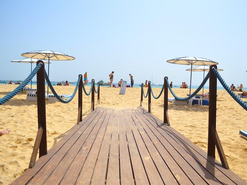 Beach club Santa Maria Sal Cape Verde