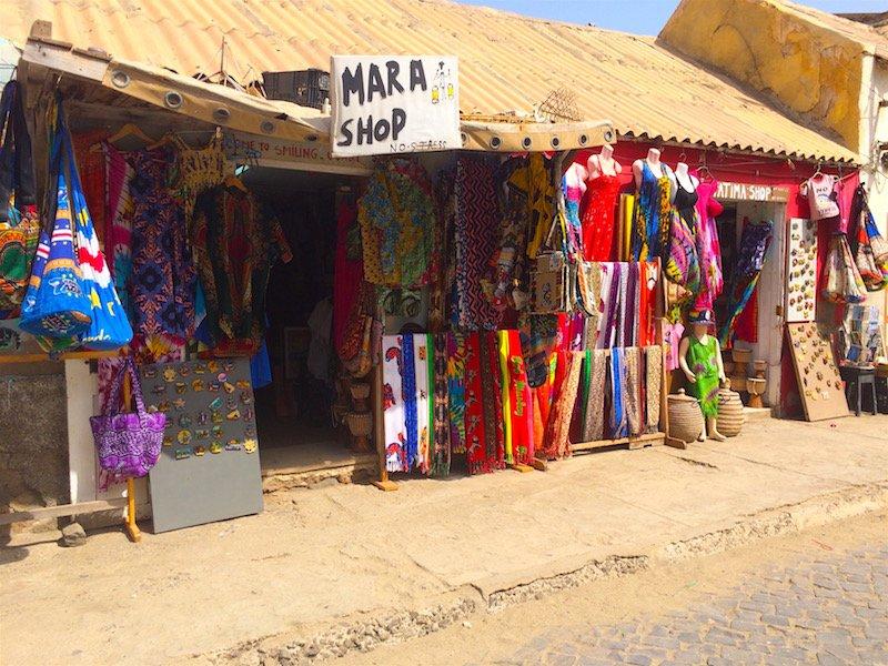 Mara shop Santa Maria Sal Cape Verde