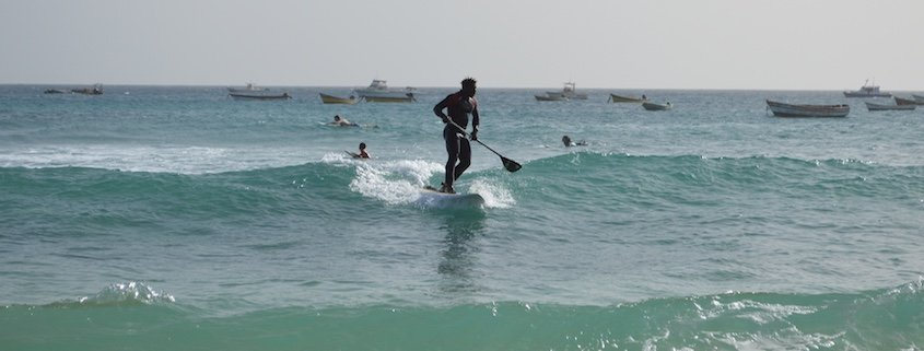 Water sports at Santa Maria, Sal, Cape Verde