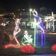 Christmas scene in Santa Maria Sal