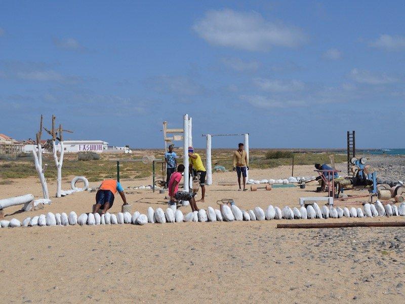 Beach gym Santa Maria