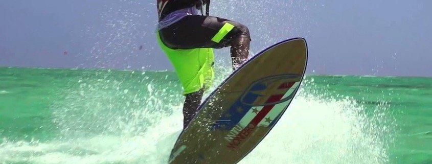 Kite Surfing, Sal, Cape Verde