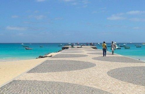 Santa Maria pier, Sal, Cape Verde