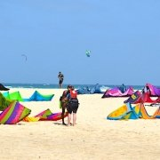Kite Beach on Sal Island, Cape Verde
