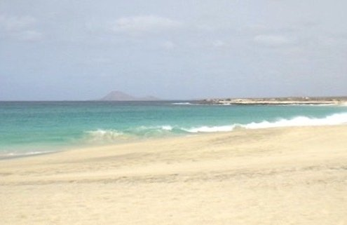 Ponta Preta beach, Sal