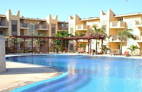 Tropical Resort on Sal island, Cape Verde